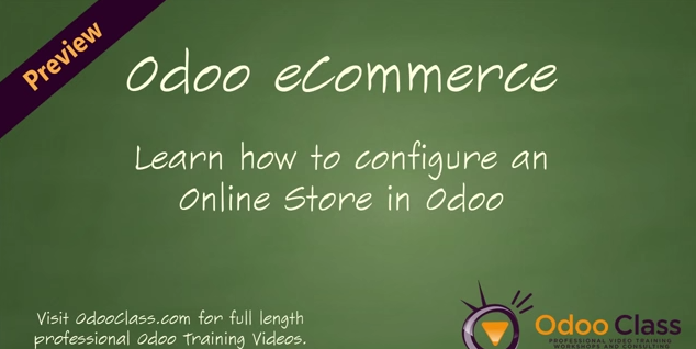 Odoo eCommerce - Learn how to configure an online store in Odoo